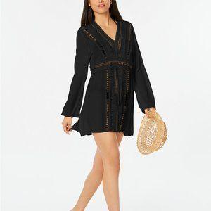 Raviya Crochet Tunic Swimsuit Cover-Up Medium NEW